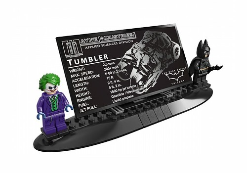 LEGO Ultimate Collector's Set The Tumbler stand