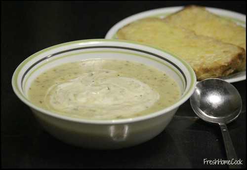 Roasted Potato & Leek Soup