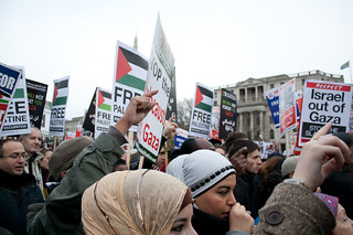 Gaza Protest, London