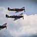 Flying Legends: Supermarine Spitfire Formation Flyby