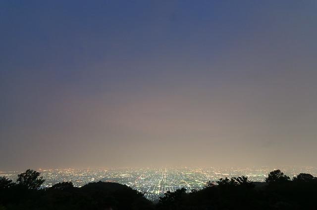 暗峠 夜景