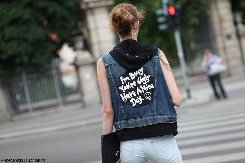 Street style at Milan Fashion week Menswear day 3