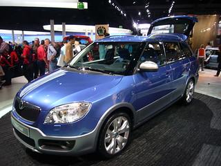 Škoda Fabia Combi Scout Concept