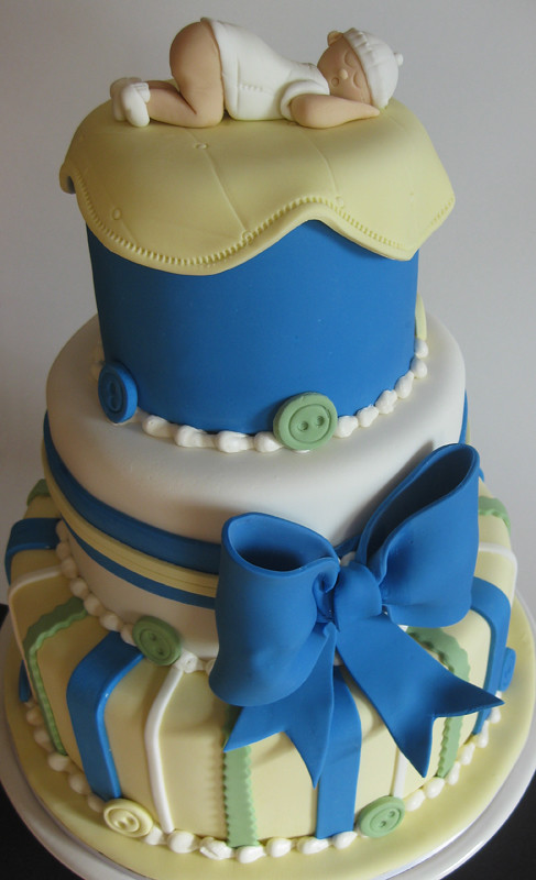 Birthday Cake Design For A Baby Boy : Baby Themed Cakes Oakleaf Cakes Bake Shop