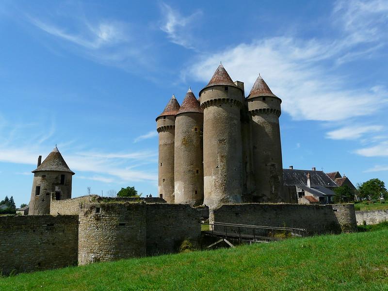 Castillo de Sarzay, Francia