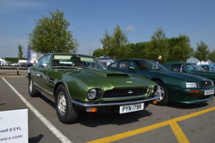 aston martin vantage(0.0), aston martin db7(0.0), supercar(0.0), sports car(0.0), race car(1.0), automobile(1.0), vehicle(1.0), aston martin v8(1.0), performance car(1.0), automotive design(1.0), classic car(1.0), land vehicle(1.0),
