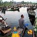 Floating market - Srinagar, India by Maciej Dakowicz