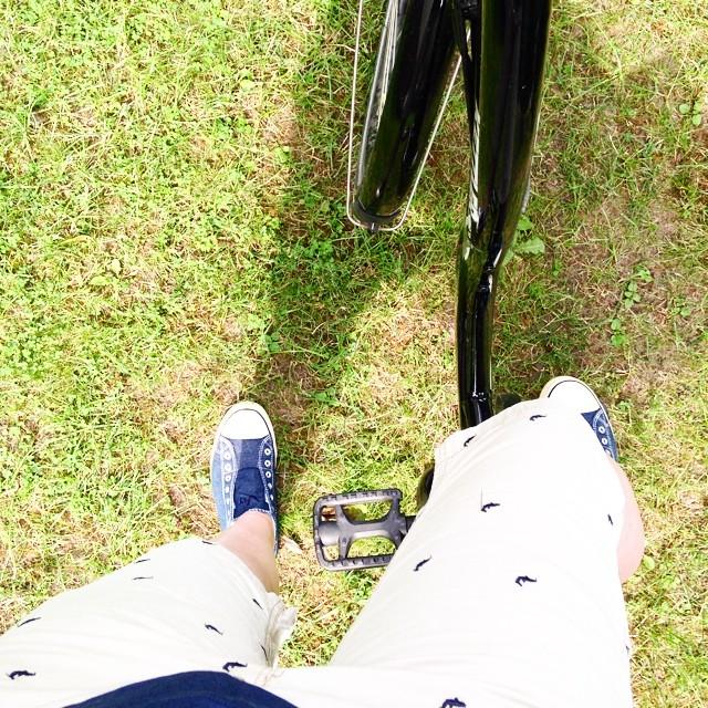 Kleine Fahrradtour inne City. Schon seit Ewigkeiten nicht mehr gemacht .... #hannover #fahrrad #bike #Fahrradtour #maschseefest #liebsterschwager #thesting #ootd #familieglasgefluesterunterwegs