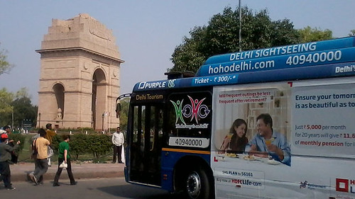 Delhi Exploration via Ho Ho Bus - Things to do in New Delhi