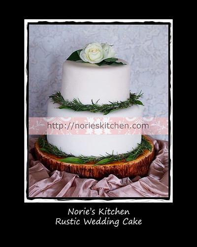 Norie's Kitchen - Rustic Wedding Cake