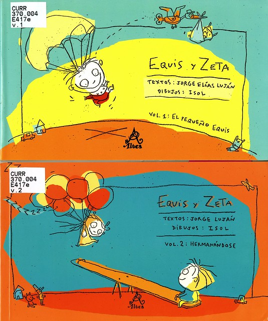 Equis y Zeta, vols 1 and 2 || Illustrations by Isol
