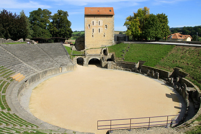 Amphithéâtre romain d'Avenches