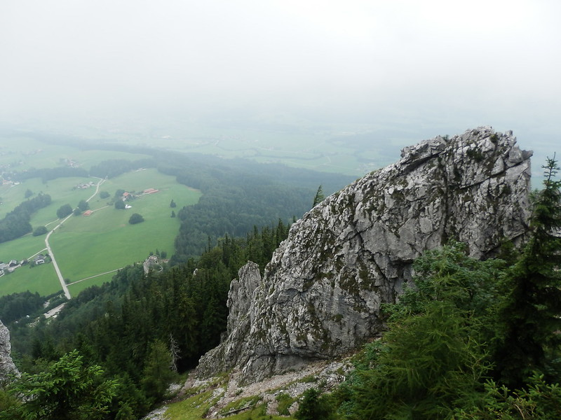 Looking down from Schober