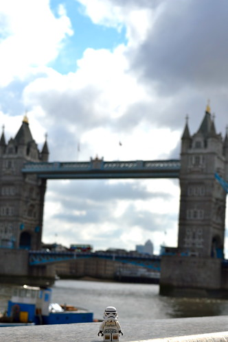 Stormy at Tower Bridge
