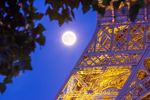 The Eiffel Moon