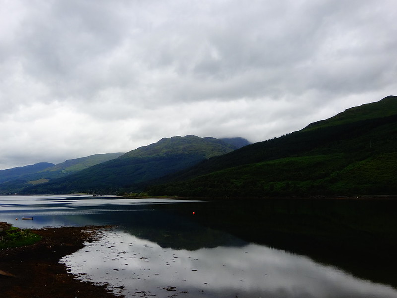 The lake in Arrochar