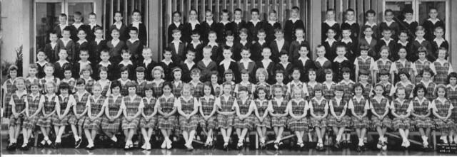 St. Christopher Catholic School  2nd graders 1961 West Covina, CA