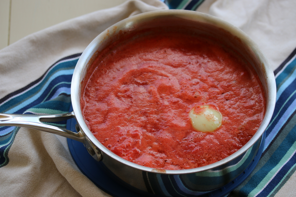 Barely Cooked Tomato Sauce4