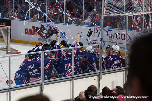 USA vs Canada International Ice Hockey in Sydney 2014