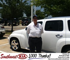 #HappyAnniversary to Phyllis Easley on your 2011 #Chevrolet #Hhr from Mauricio Pena at Southwest KIA Rockwall!