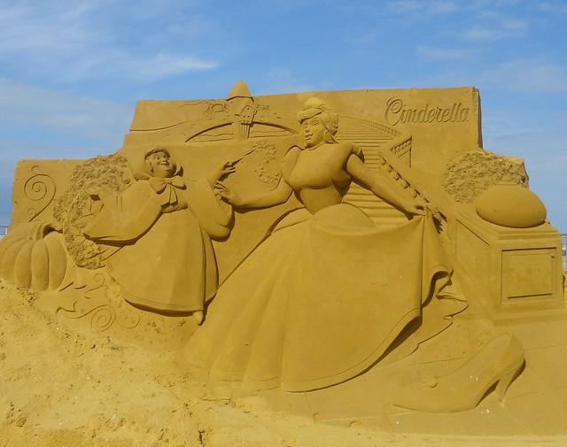 Sculpures sur sable Disney - News Touquet p.1 ! 14770318449_f58a4dcb43_z