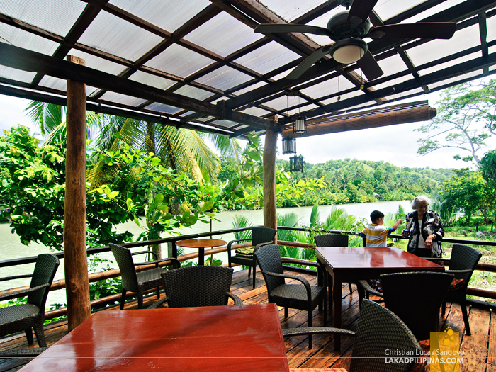 Dining Hall at the Loboc River Resort in Bohol