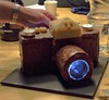 shooting with Tom's birthday-cake  - Nikon T