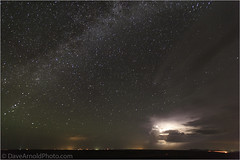 Lightning and the Milky Way