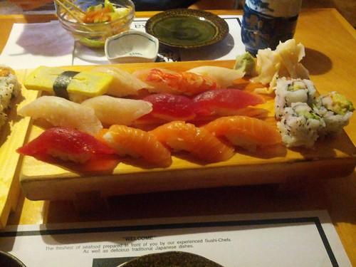 Asuka Sushi Dinner