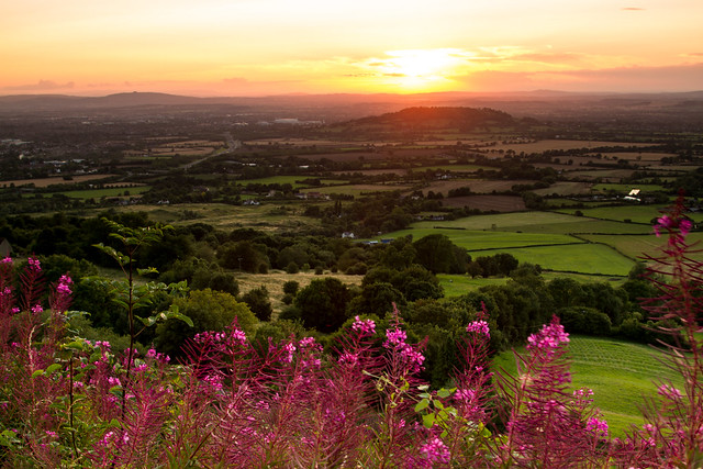 Crickley Hill Sunset