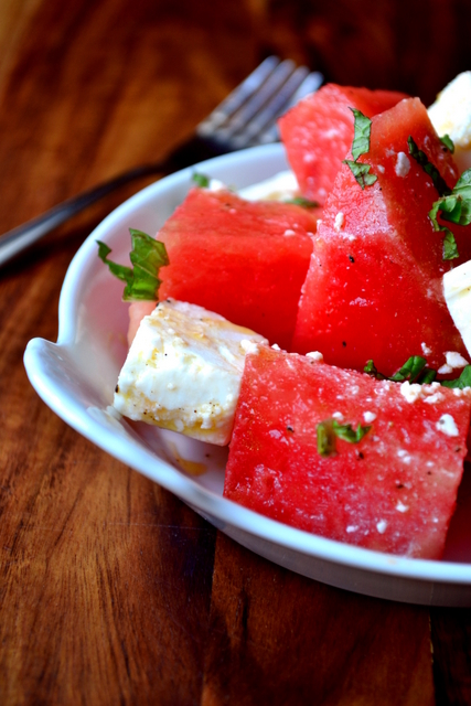 Recipe for Watermelon and Feta Salad