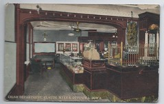11442  U.S. Ottumwa Iowa Jewish Claude Myer's Cigar Store