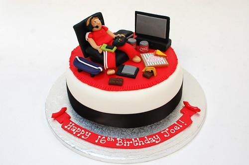 Teenage Technology Cake