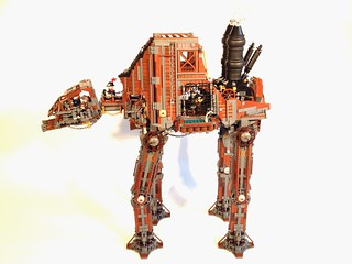 Steampunk AT-AT, by markus1984, on Eurobricks