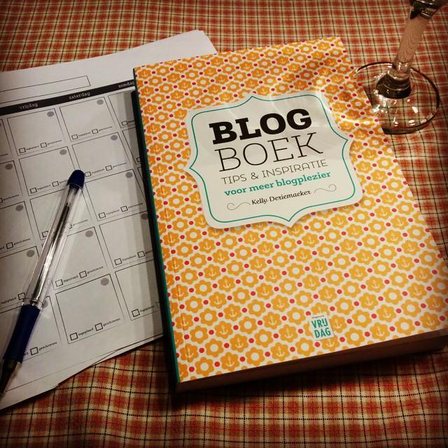 Het lezen alleen al is een plezier. #blogboek