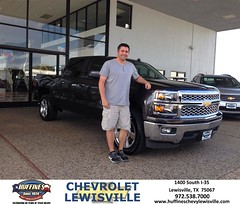 Congratulations to Chris Bartele on your #Chevrolet purchase from Henry Boyd at Huffines Chevrolet Lewisville! #NewCar