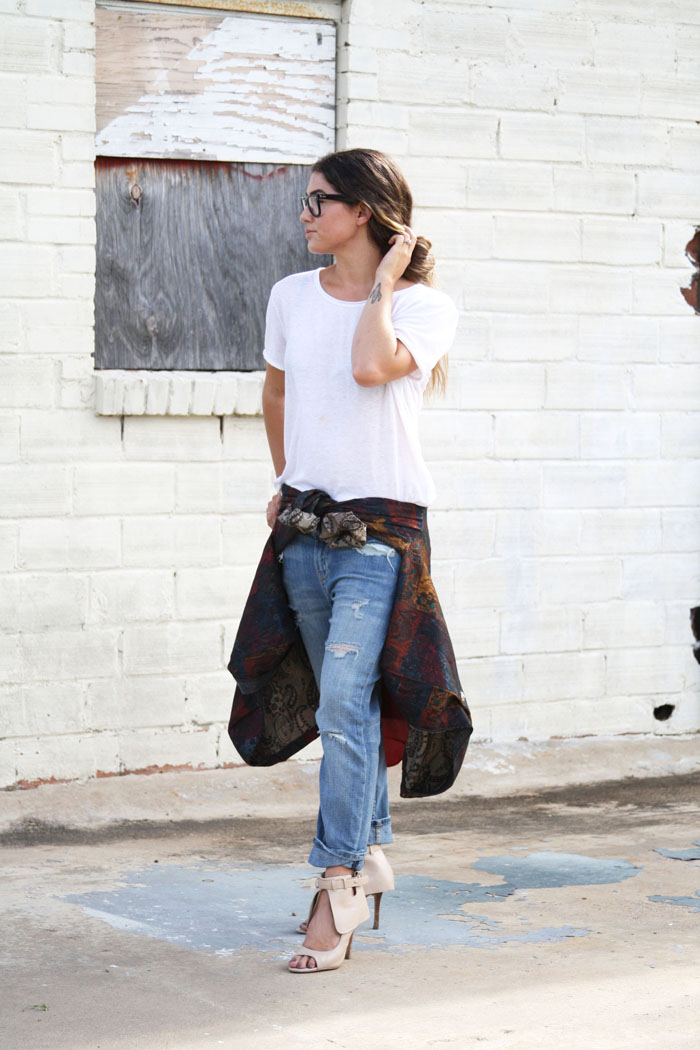 Fringe of the Cro | Dressing up boyfriend jeans