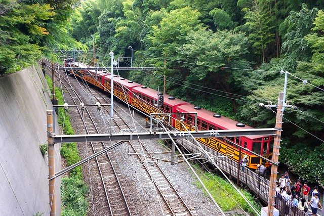 トロッコ嵐山駅 / 嵐山トロッコ列車