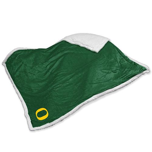 Oregon Ducks NCAA Sherpa Blanket