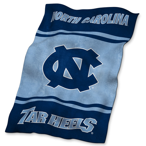 North Carolina Tarheels Ultrasoft Blanket