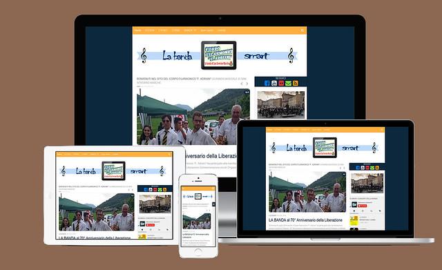 Il sito web www.bandaadriani.tk è responsive!