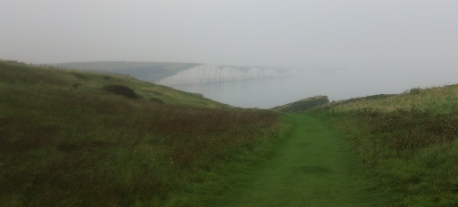 Misty sisters Sussex coast