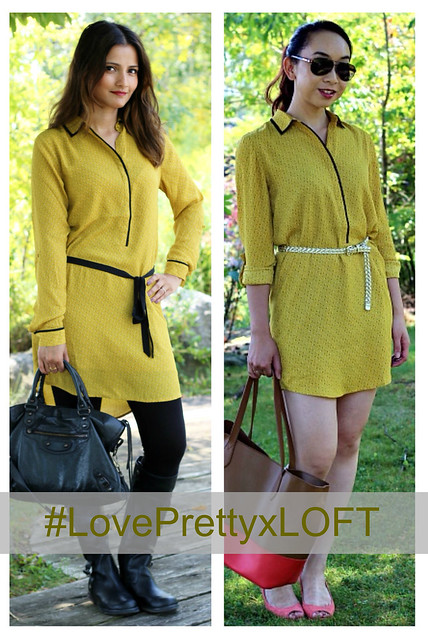 LovePretty-LOFT-mustard-dress-Zeba+Elaine