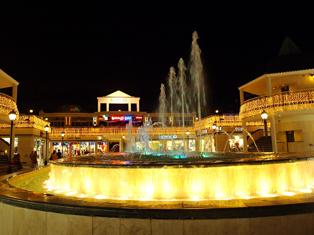 Playa de las Americas at Night, Tenerife