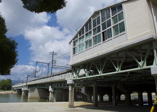140907 阪神電鉄 武庫川駅