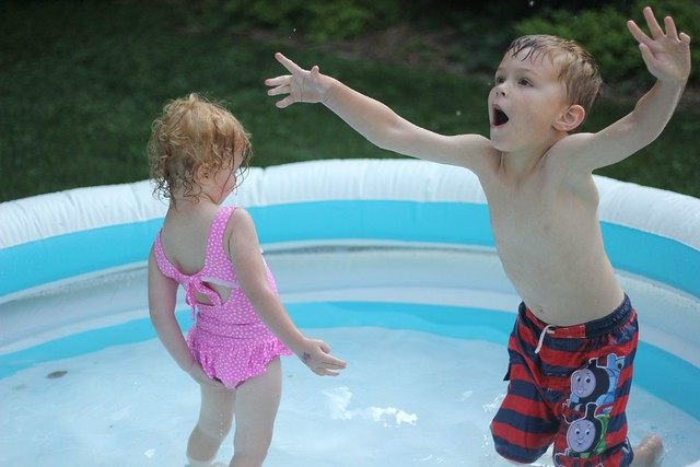 Truman + Cecelia: Pool 2014