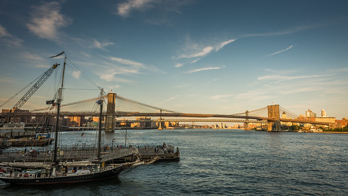 Brooklyn Bridge (No HDR) by Geoff Livingston