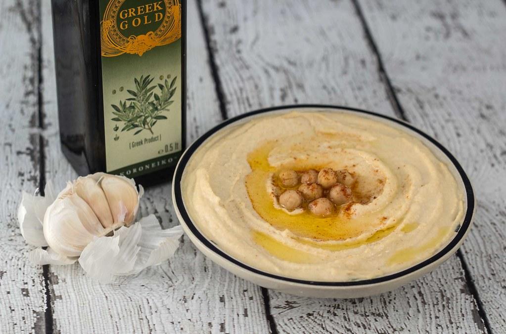 Opskrift på hjemmelavet Lækker og cremet hummus