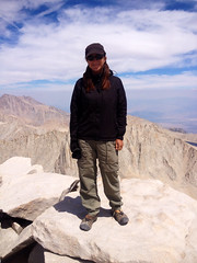 Top of Mt. Whitney 14,508 ft!