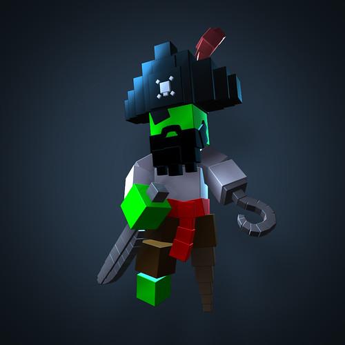 Resogun: Pirate